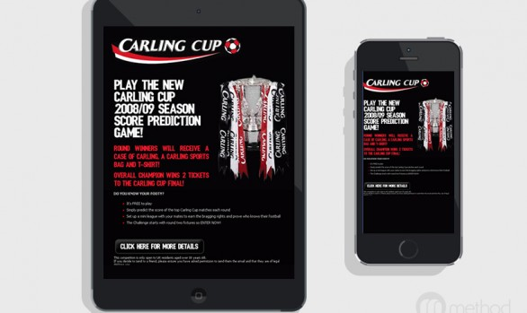 Carling Cup - Prediction Game